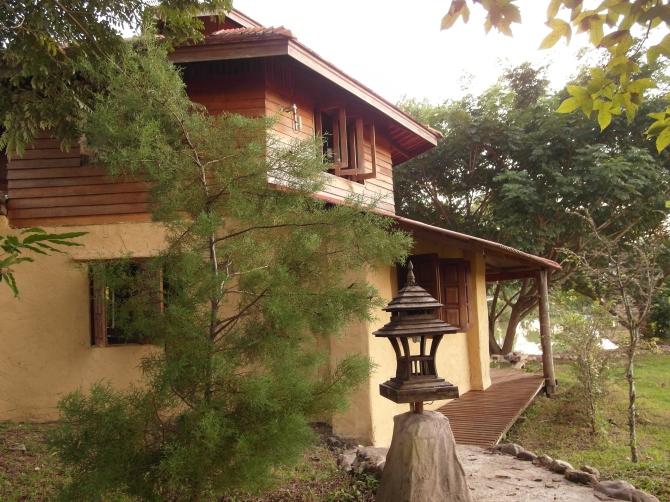 Lakeside Mud Brick House
